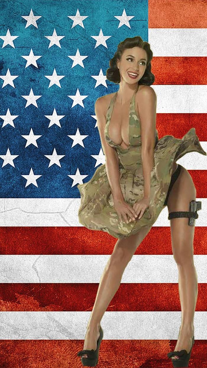 Patriotic Conceal Carrier 700x1244 Patriotic Conceal Carrier vertical wallpaper Sexy NeSFW