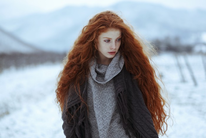 Red head in the snow.jpg
