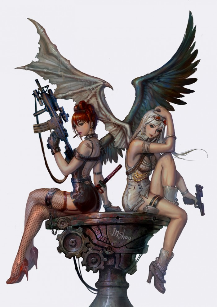 Sexy Angels, black and white.jpg