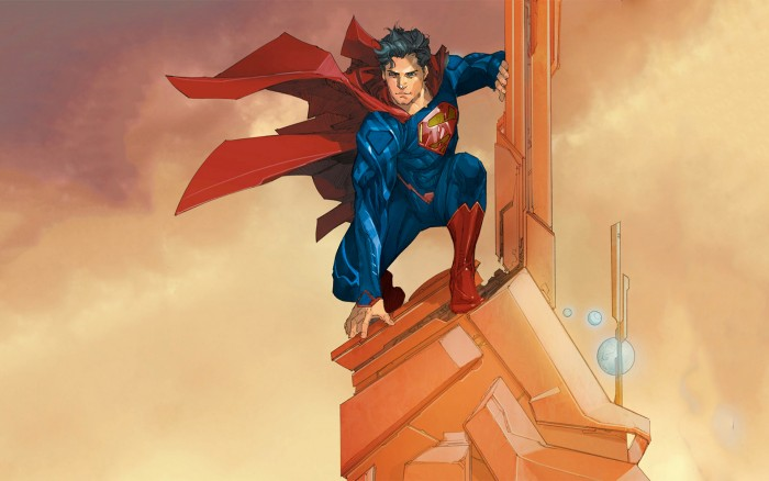 Superman on a tower.jpg