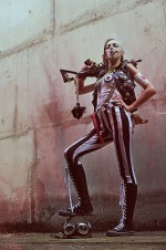 Tank Girl Cosplayer