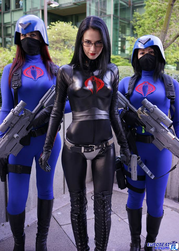 The Baroness and her honor Guard The Baroness and her honor Guard Sexy NeSFW gi joe cosplay