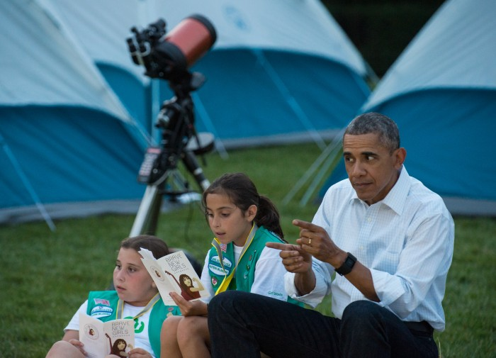 Barry at the first Annual White House Campout.jpg