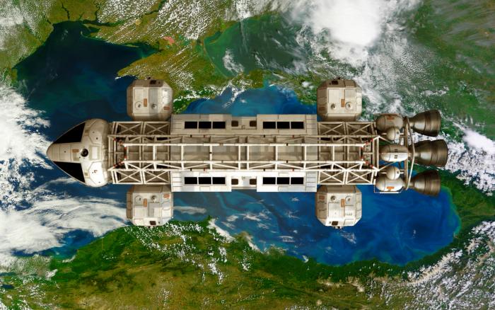 Eagle 1 in orbit.png