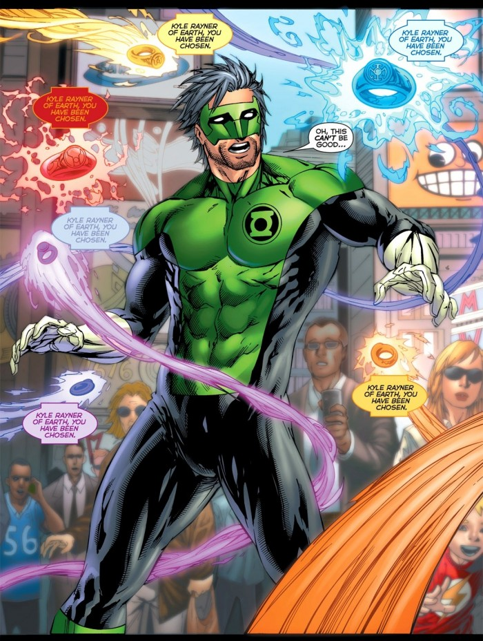 Green Lantern - Kyle Has been chosen.jpg