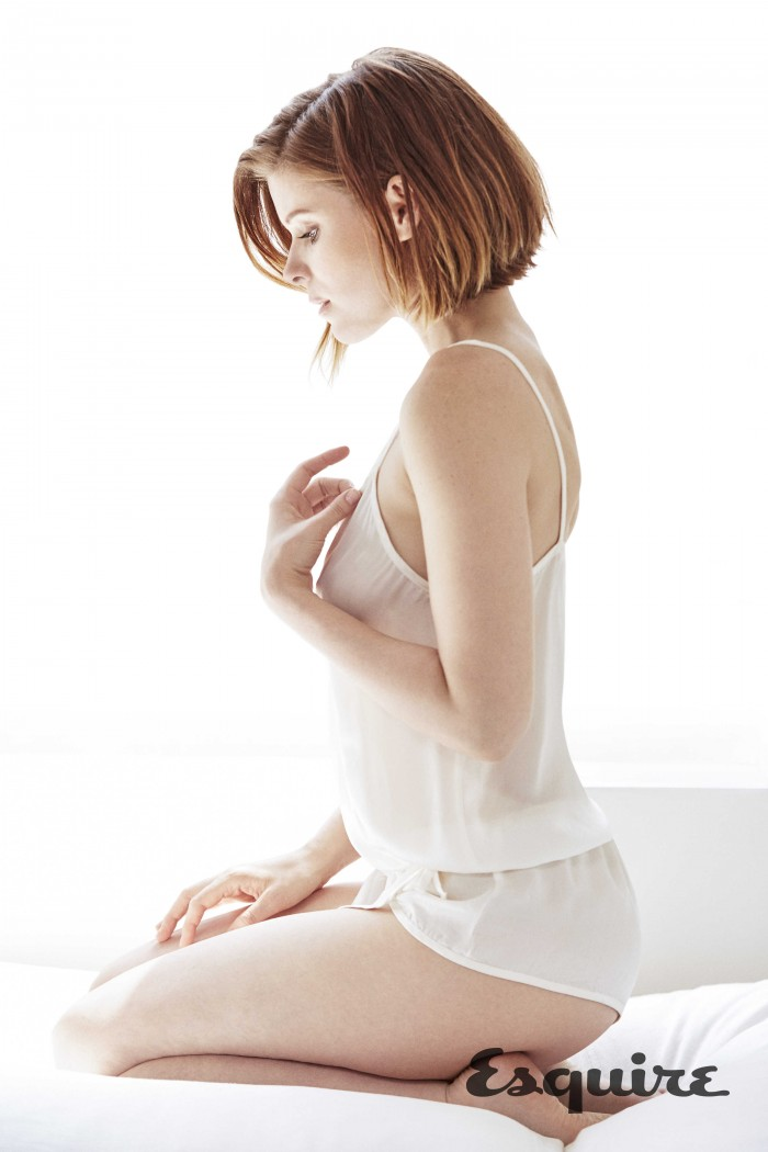 Kate Mara in Esquire magazine  Photo Credit: Abbey Drucker  (WEB AFTER 8:00 AM WEDNESDAY)
