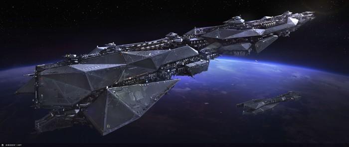 Science Ship Wallpaper Fantasy   Science Fiction