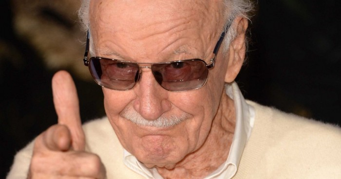 Stan Lee has a finger gun.jpg