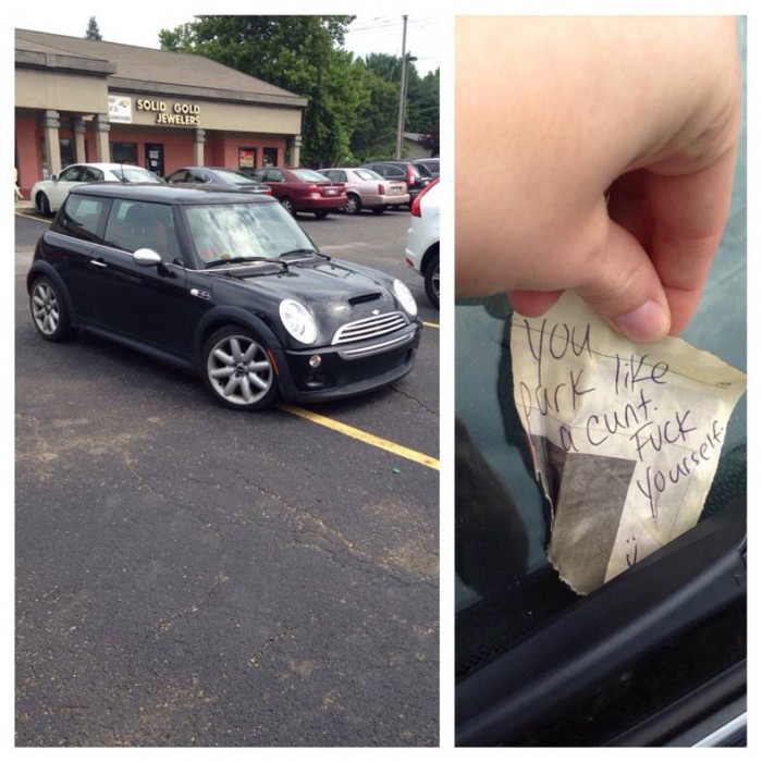 You park like a cunt.jpg