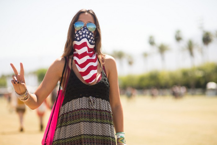 american bandana 700x467 America Riot Wallpaper Sexy Fourth Of July