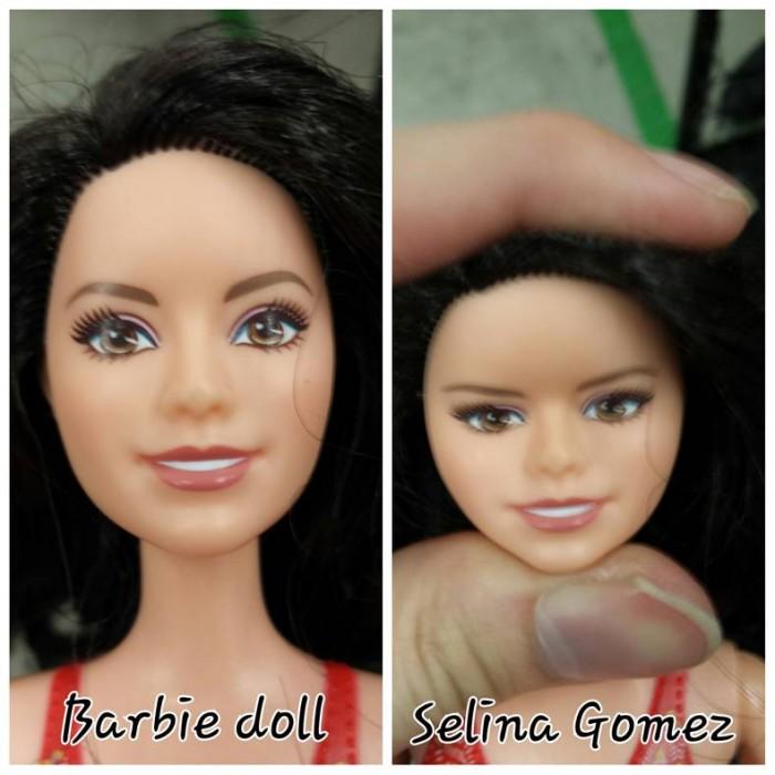 Barbie turned into Selina Gomez.jpg