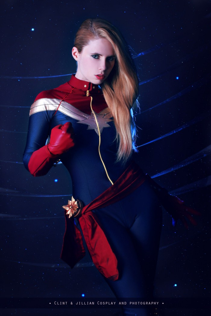 Florencia Sofen as Captain Marvel 700x1050 Florencia Sofen as Captain Marvel
