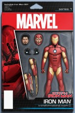 Invincible Iron Man 150x226 Marvel's All New, All Different relaunch covers