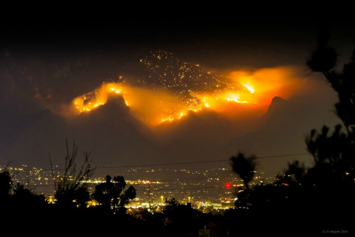 Mountain on fire in Tuscon, AZ.jpg