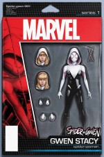 Spider Gwen 150x226 Marvel's All New, All Different relaunch covers