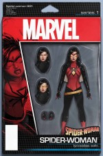 Spider Woman 150x226 Marvel's All New, All Different relaunch covers