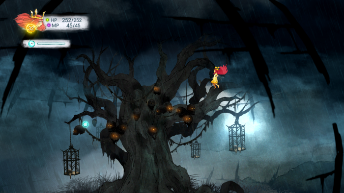 Child of Light Tree of Skulls 700x394 Child of Light   Tree of Skulls Wallpaper Gaming Child of Light