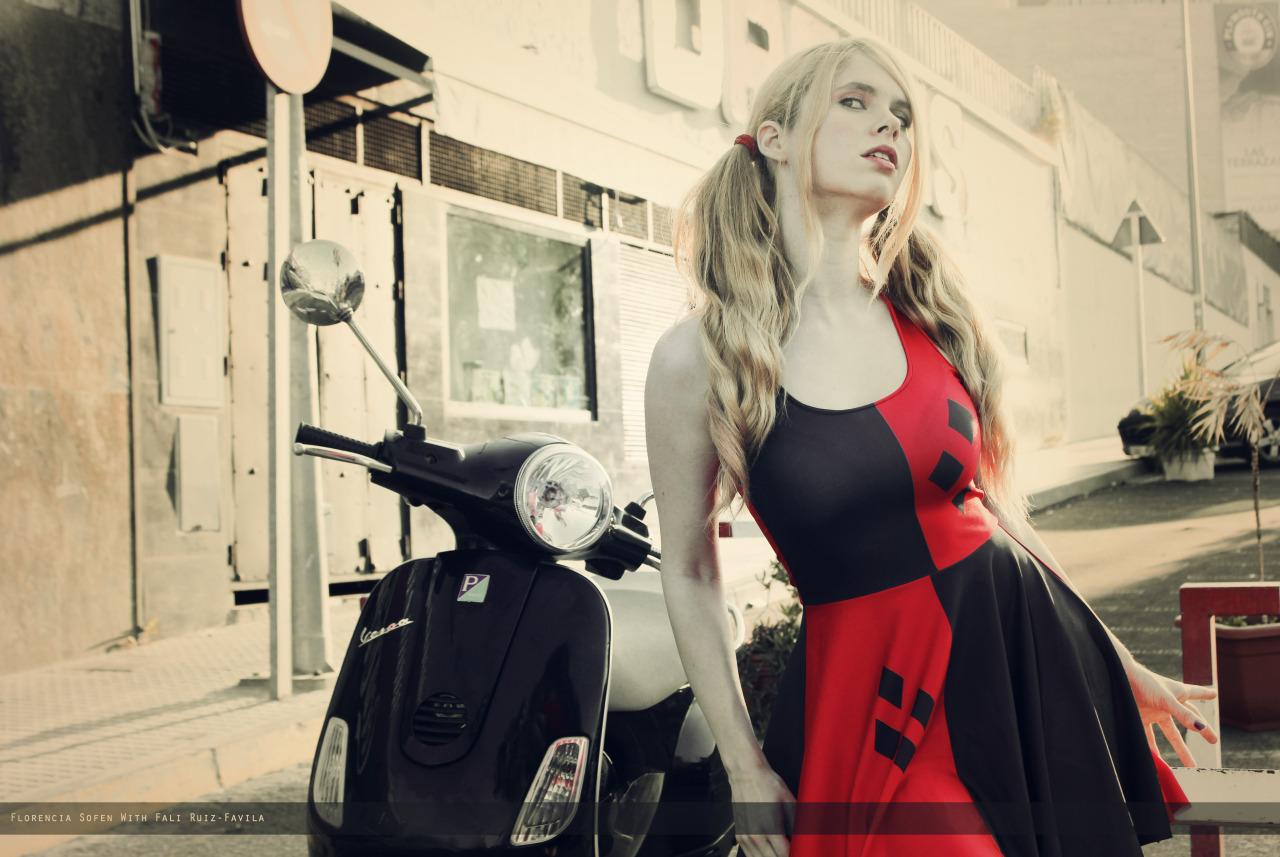 Harley Quinn on a Vespa.jpg