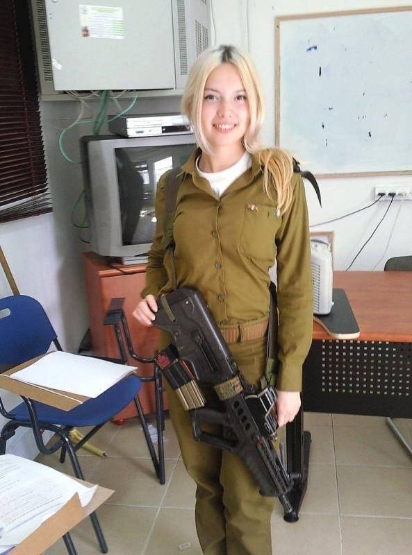 Israeli Blonde with a gun.jpg