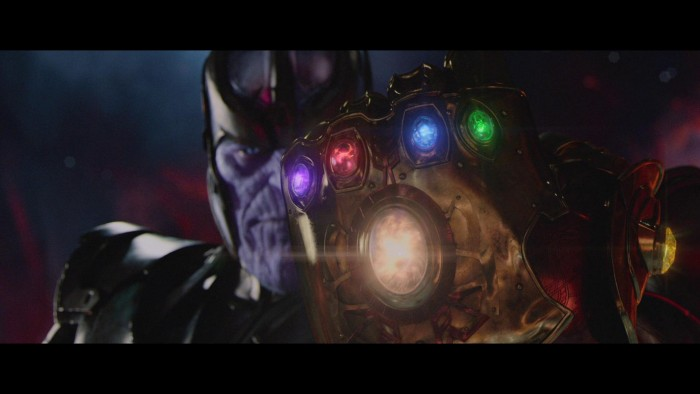 Thanos and his hilariously huge gauntlet 700x394 Thanos and his hilariously huge gauntlet