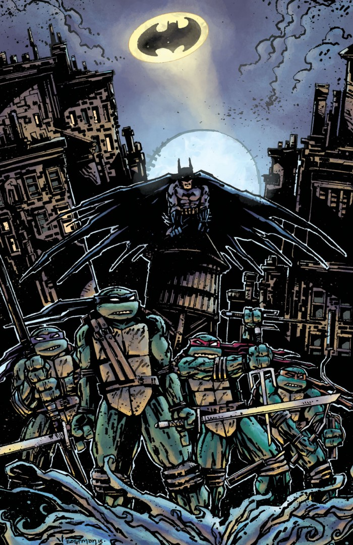 batman and the tmnt 700x1079 batman and the tmnt