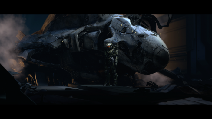 Master Chief and his busted ass jet.png