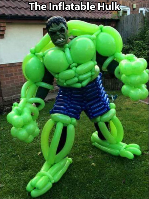 The Inflatable Hulk