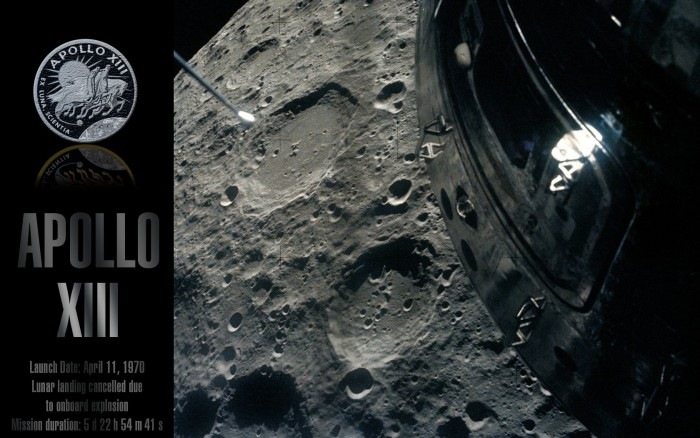 Apollo XIII Moon Picture