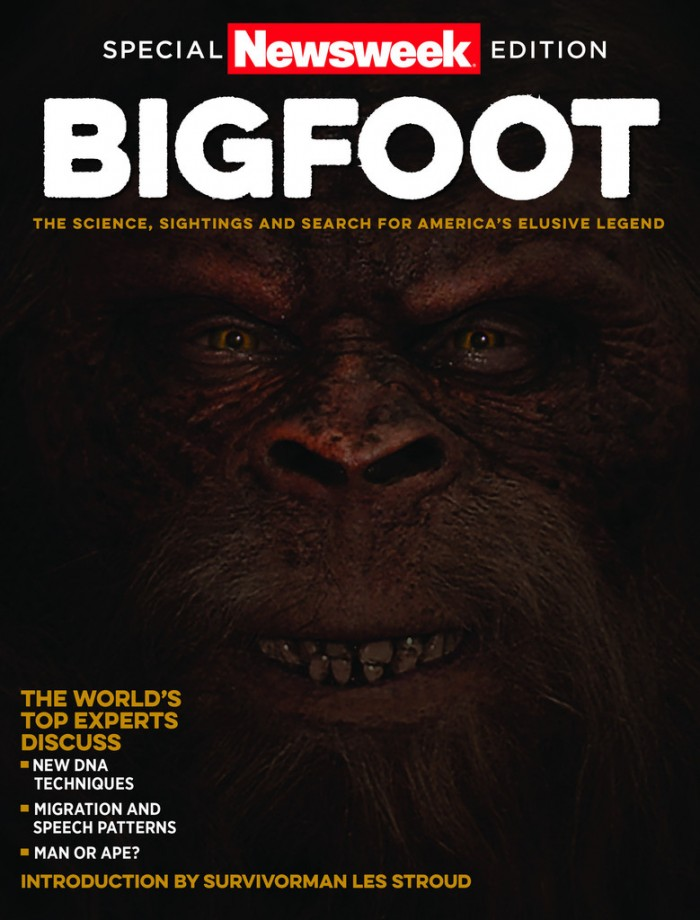 Bigfoot cover 1024x1024 700x920 Special Newsweek Edition BIGFOOT Special Edition Newsweek magazine Bigfoot