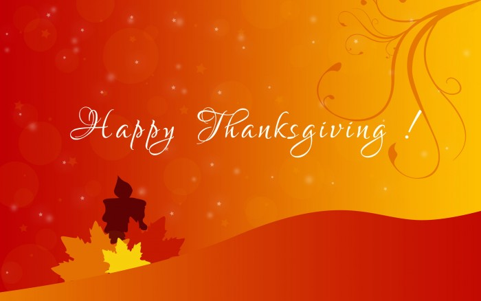 Happy Thanksgiving Wallpaper -  Orange.jpg