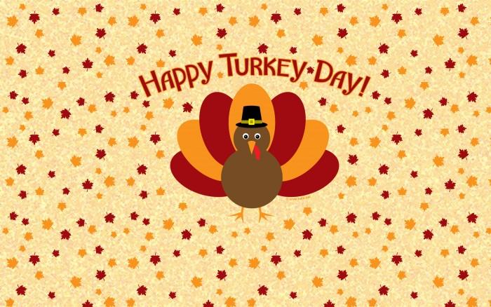 Happy Thanksgiving Wallpaper - chibi turkey.jpg