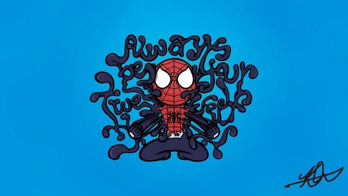 Spider-man - always be your true self.jpg