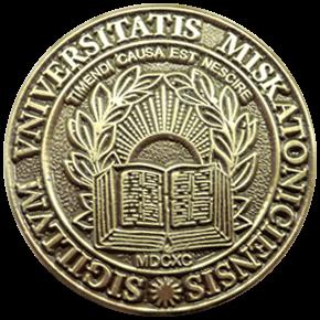 c Miskatonic University Lapel Pin Brass