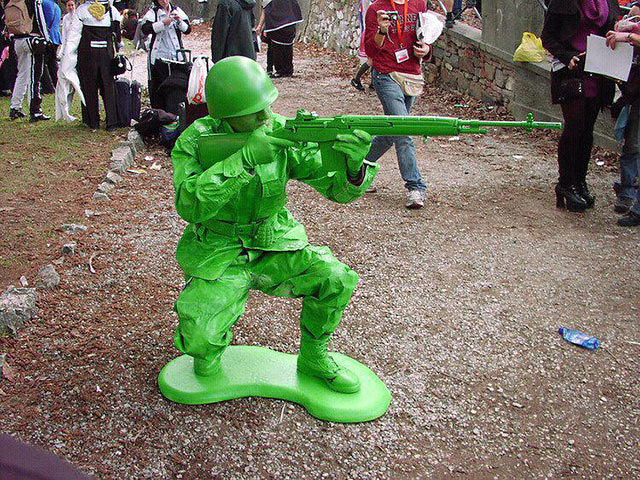 cosplay toy soldier