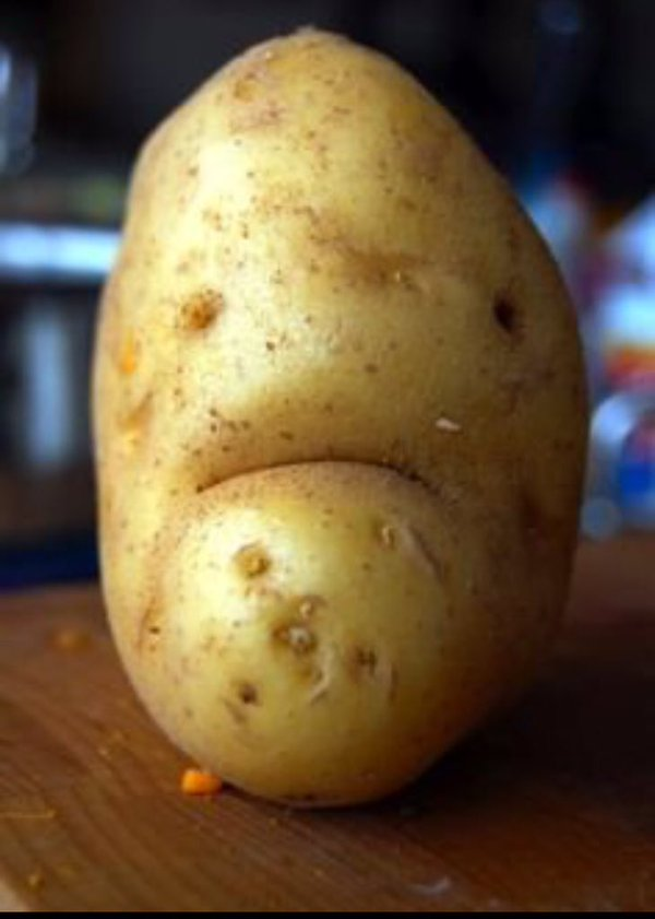 sadness in his eyes spud