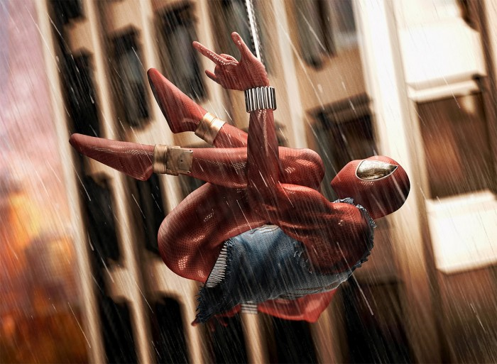 scarlet spider going up.jpg
