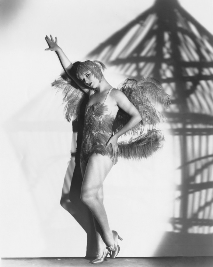 1929 --- American actress Louise Brooks as she appears in the 1929 mystery , in which she plays the role of Margaret Odell (The Canary), a scheming nightclub singer. --- Image by George P. Hommell