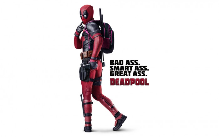 Deadpool Bad Ass Wallpaper 700x438 Deadpool Bad Ass Wallpaper Wallpaper Movies deadpool Comic Books