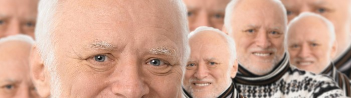 Harold views you 700x197 Harold views you wtf Wallpaper