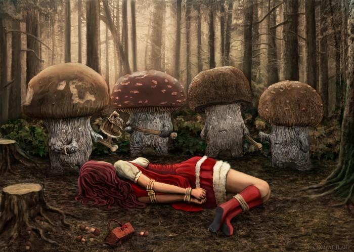Mushrooms by adilartist.jpg