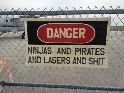 Ninjas Vs. Pirates