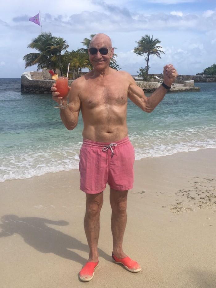 Patric Stewart on the beach.jpg