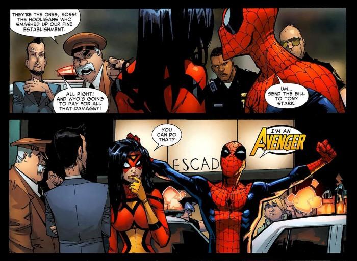 Spider-man has an expense account.jpg
