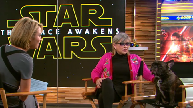 http://time.com/4137685/carrie-fisher-star-wars-the-force-awakens-good-morning-america-interview/