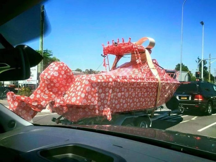 gift wrapped boat.jpg