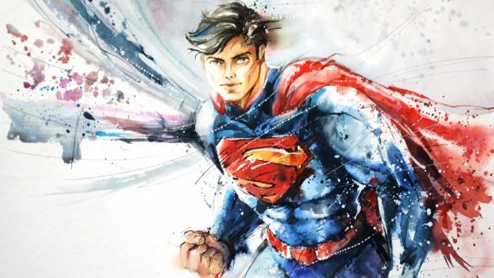 sexy superman in waterpaints.jpg