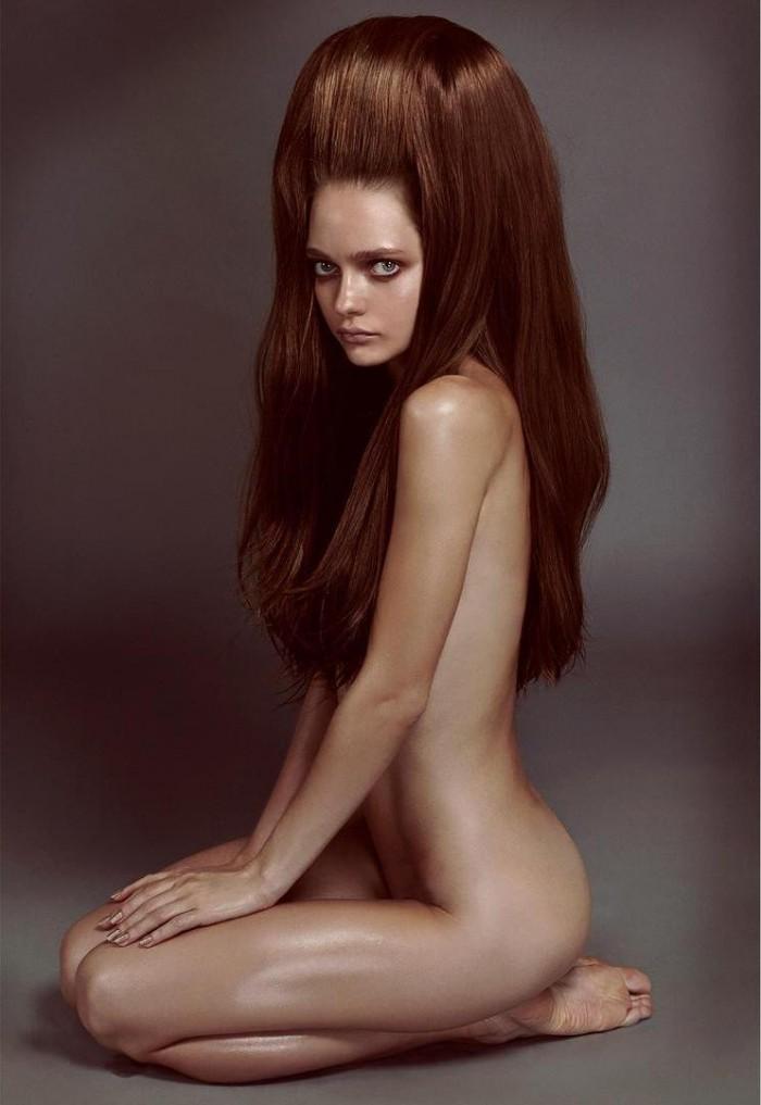 1 9 700x1017 Hair, this years must have Sexy NeSFW model Katyusha Feofanova