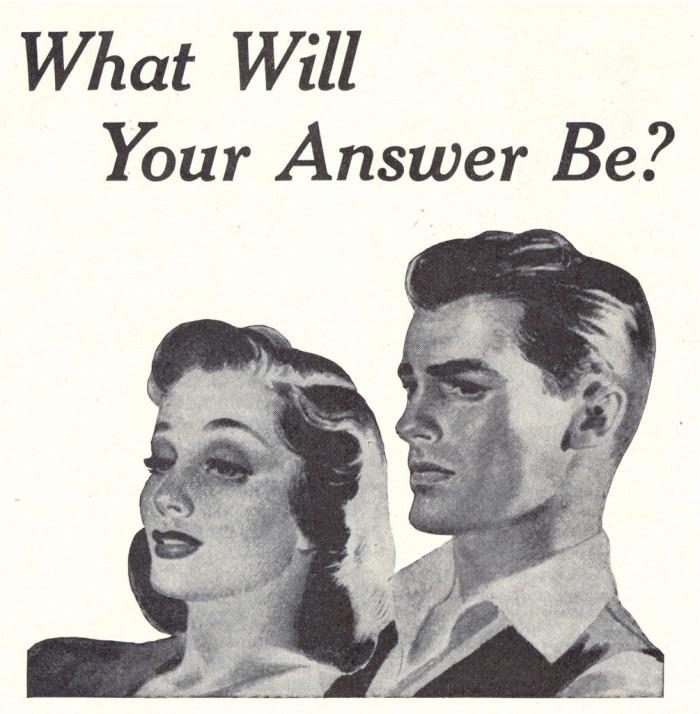Answer copy