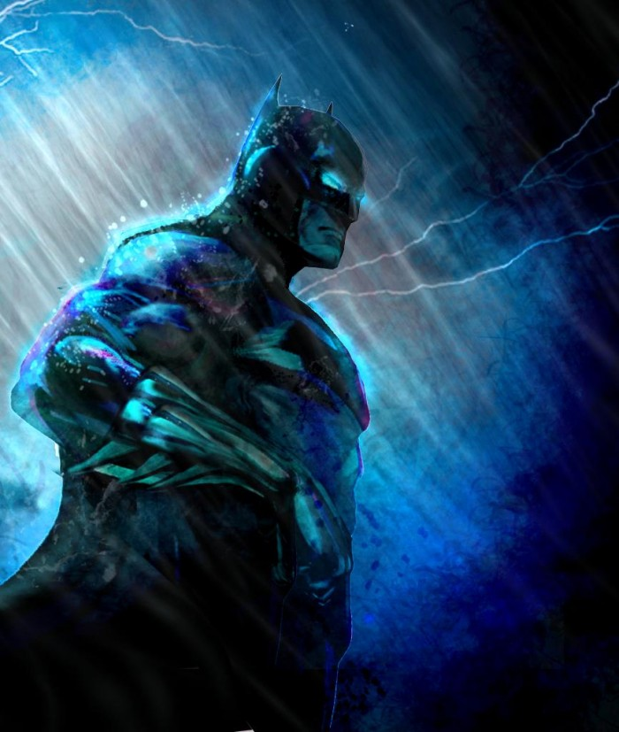 Batman by Zach Sather2 700x827 Batman by Zach Sather
