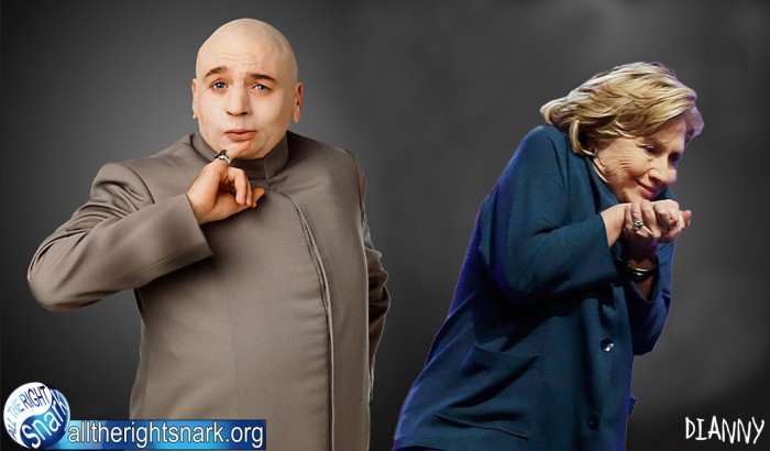 Dr Evil and His Girl Friend Hillary Clinton.jpg